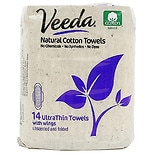 Veeda Natural Ultra Thin Day Pad with Wings