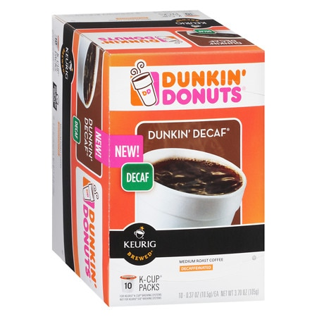 Upc 881334002997 Dunkin Donuts K Cups Decaf