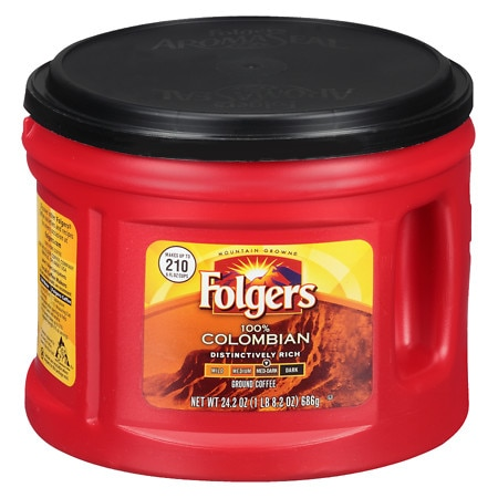 Folgers Coffee Colombian - 24.2 oz.