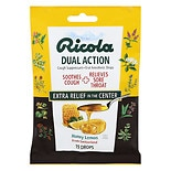 Ricola Dual Action Cough Drops Honey-Lemon