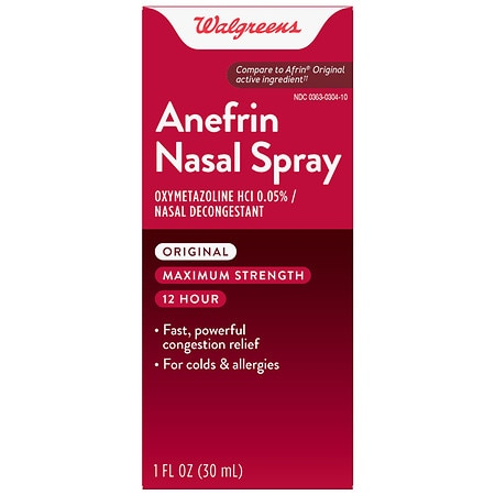 Walgreens Anefrin Nasal Spray