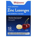 Walgreens Zinc Lozenges Cherry