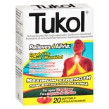 Tukol Adult Cough & Chest Congestion DM Softgels