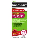 Robitussin Maximum Strength CF Severe Multi-Symptom Cough/ Cold/ Flu