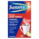 TheraFlu Flu & Sore Throat Powder Apple Cinnamon