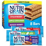 Nutri-Grain Soft Baked Bars Variety Pack Strawberry, Apple Cinnamon, Mixed Berry