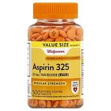Walgreens Aspirin 325 Mg Enteric Coated Tablets Walgreens