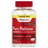 Walgreens Pain Reliever Extra Strength Caplets