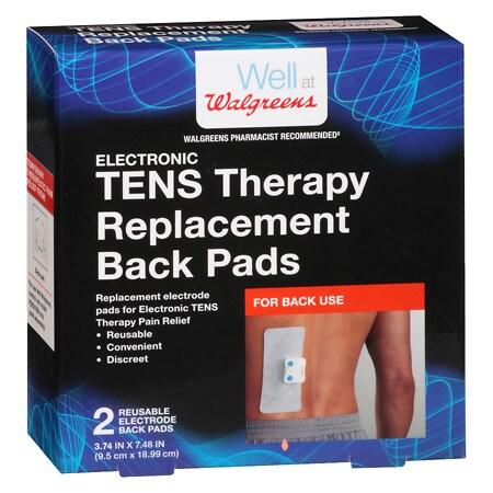 Walgreens TENS Electrode Back Pads - 2 ea