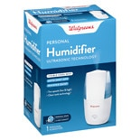 Walgreens Ultrasonic Personal Humidifier White