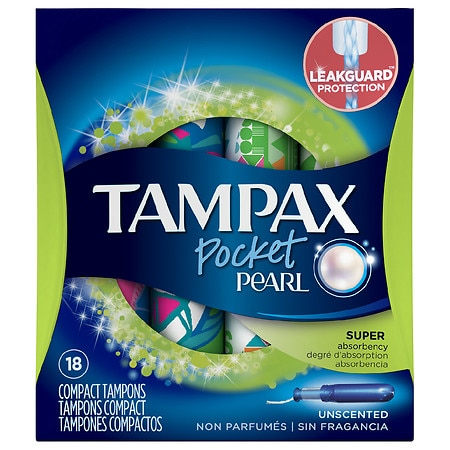 How does Tampax Radiant help stop leaks? The Tampax Radiant tampon has FormFit protection. It's designed to expand widthwise to fit your unique form and has a LeakGuard Braid to help stop leaks before they happen.