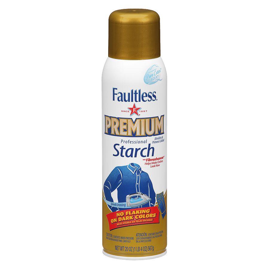 Faultless Premium Starch Cotton | Walgreens