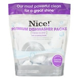 Nice! Premium Dishwasher Packs Fresh Scent