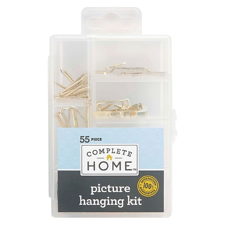 Living Solutions Picture Hanging Kit 55 Piece - 1 ea