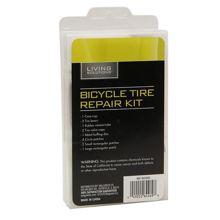 Living Solutions Bicycle Tire Repair Kit - 1 ea
