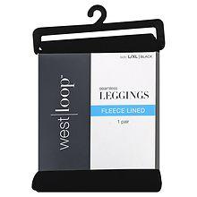 fbd9c9bab38b81 West Loop Fleece Leggings L/XL Black | Walgreens