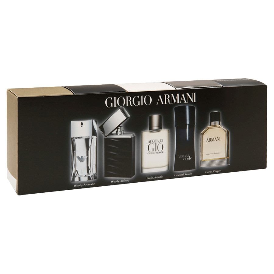 giorgio armani men 39 s fragrance coffret 5 piece walgreens. Black Bedroom Furniture Sets. Home Design Ideas