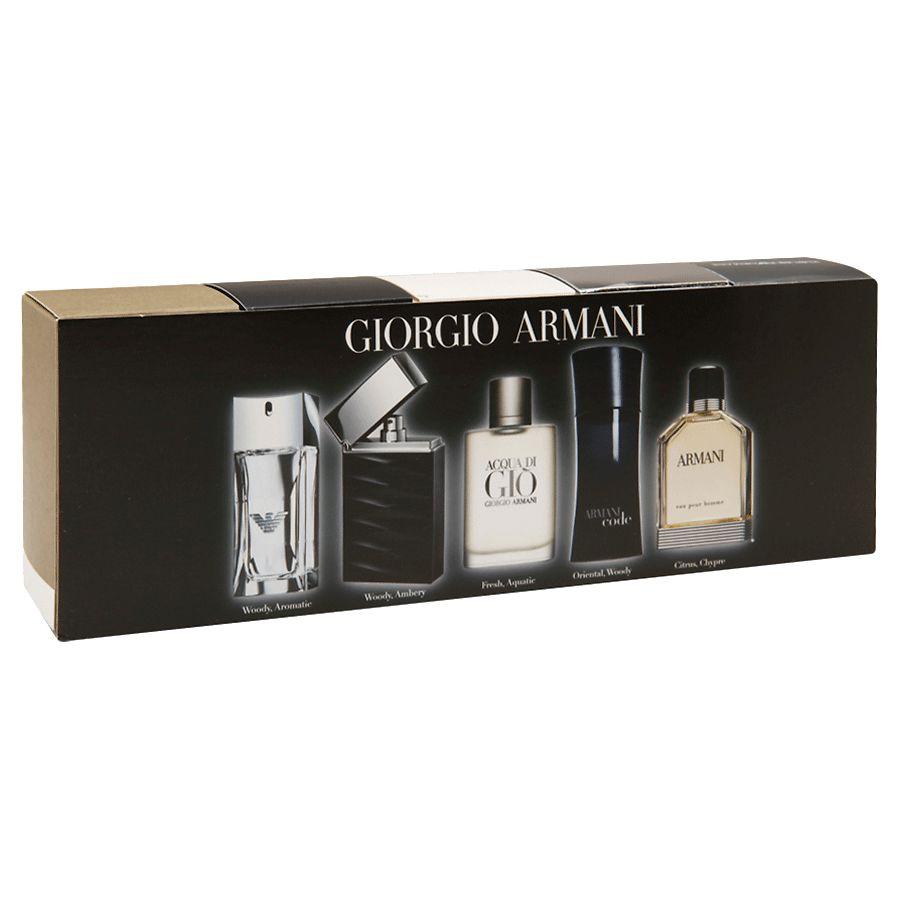 Giorgio Armani Men s Fragrance Coffret 5 Piece   Walgreens 0c72d3176fd2