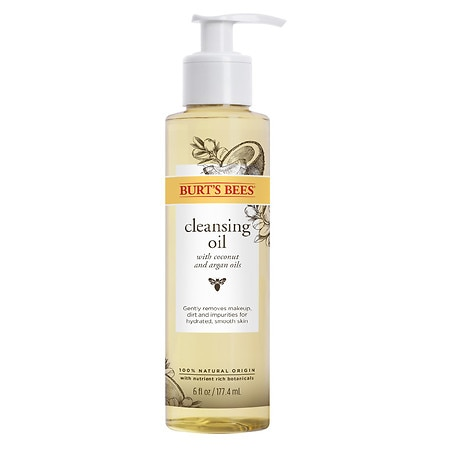 Burt's Bees Cleansing Oil for Dry Skin - 6 oz.