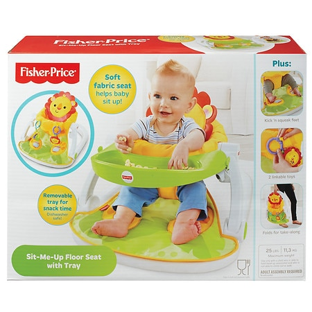 Fisher-Price Sit-Me-Up Floor Seat with Tray - 1 ea