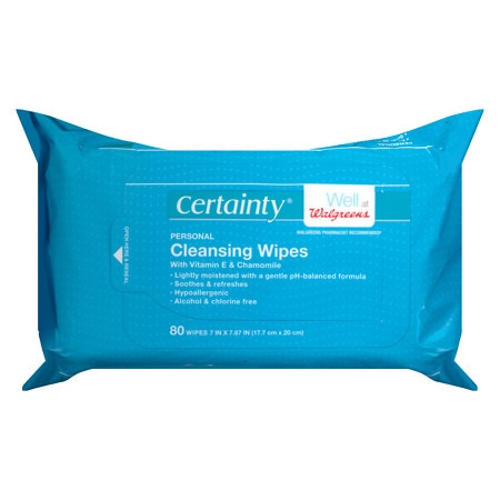 Personal Cleansing Wipes - 80 sh