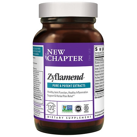 New Chapter Zyflamend Whole Body Vegetarian Capsules - 120 ea