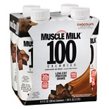 Muscle Milk 100 Calorie RTD Shakes Chocolate