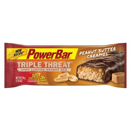 PowerBar Triple Threat Bar Peanut Butter Caramel - 1.76 oz.