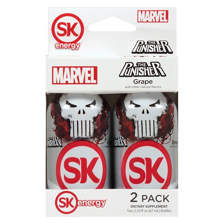 SK Energy Special Edition Shots Grape - 2.25 oz. x 2 pack