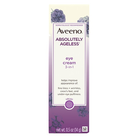 Aveeno Active Naturals Absolutely Ageless Eye Cream Blackberry - 0.5 oz.