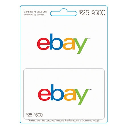 Ebay Non-Denominational Gift Card | Walgreens