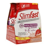 SlimFast Advanced Nutrition High Protein Meal Replacement Shake Strawberries & Cream