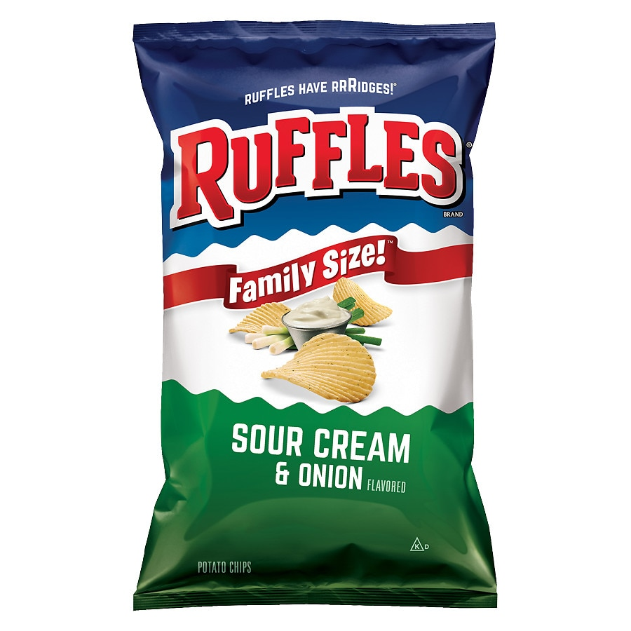 ruffles potato chips sour cream onion walgreens. Black Bedroom Furniture Sets. Home Design Ideas