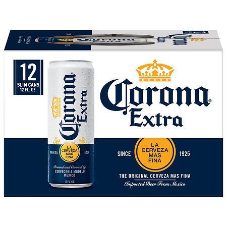 Corona Extra Beer - 12 oz. x 12 pack