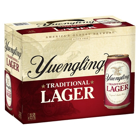 Yuengling Traditional Lager - 12 oz. x 12 pack