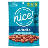Nice! Roasted Almonds Lightly Sea Salted Lightly Sea Salted