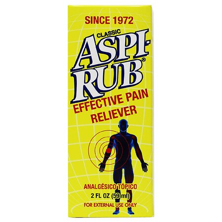 ASPI-RUB Pain Reliever - 2 oz.