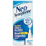 Neo-Synephrine Cold & Sinus Regular Strength Nasal Decongestant Spray