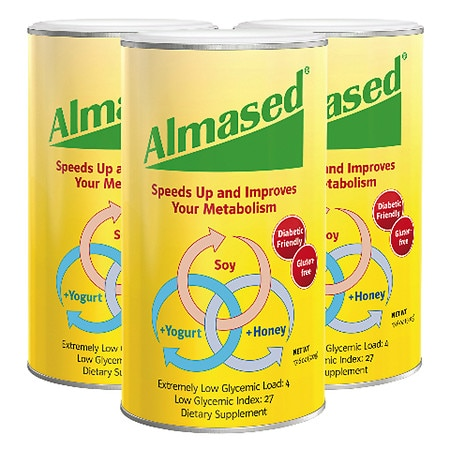 Almased Diet Shake - 17.6 oz. x 3 pack