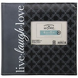Home Elements Photo Album 4 X 6 Inches Live Love Laugh