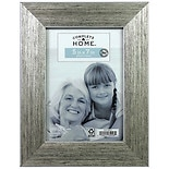 home elements roma frame 5 x 7 inches silver black