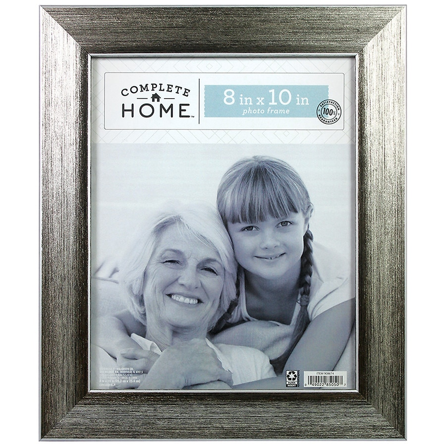 Home Elements Roma Frame 8 X 10 Inches Silverblack Walgreens