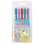 Gel Bee Gel Glitter Pens Assorted