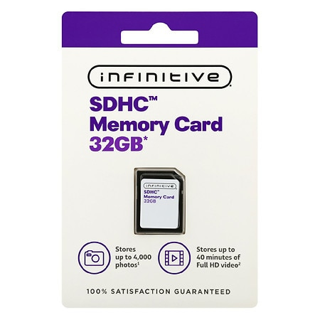 Infinitive Class 10 Ultra SD Card 32GB - 1 ea