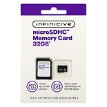 Infinitive Class 10 Ultra Micro SD Card With Adaptor 32GB