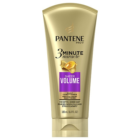 Pantene Pro-V Sheer Volume 3 Minute Miracle Deep Conditioner - 6 oz.