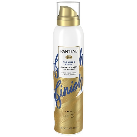 Pantene Pro-V Style Series Air Spray Alcohol Free Hairspray, Brushable Strong Hold - 7 oz.