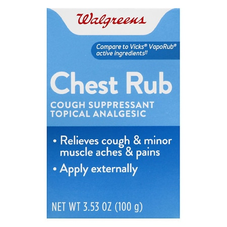 Walgreens Vapor Chest Rub - 4 oz.