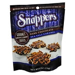 Snappers Pretzel Snacks Dark Chocolate Sea Salt