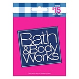 Bath & Body Works 3 Pack - $15 Gift Cards
